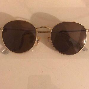 Round Anthropologie Sunglasses